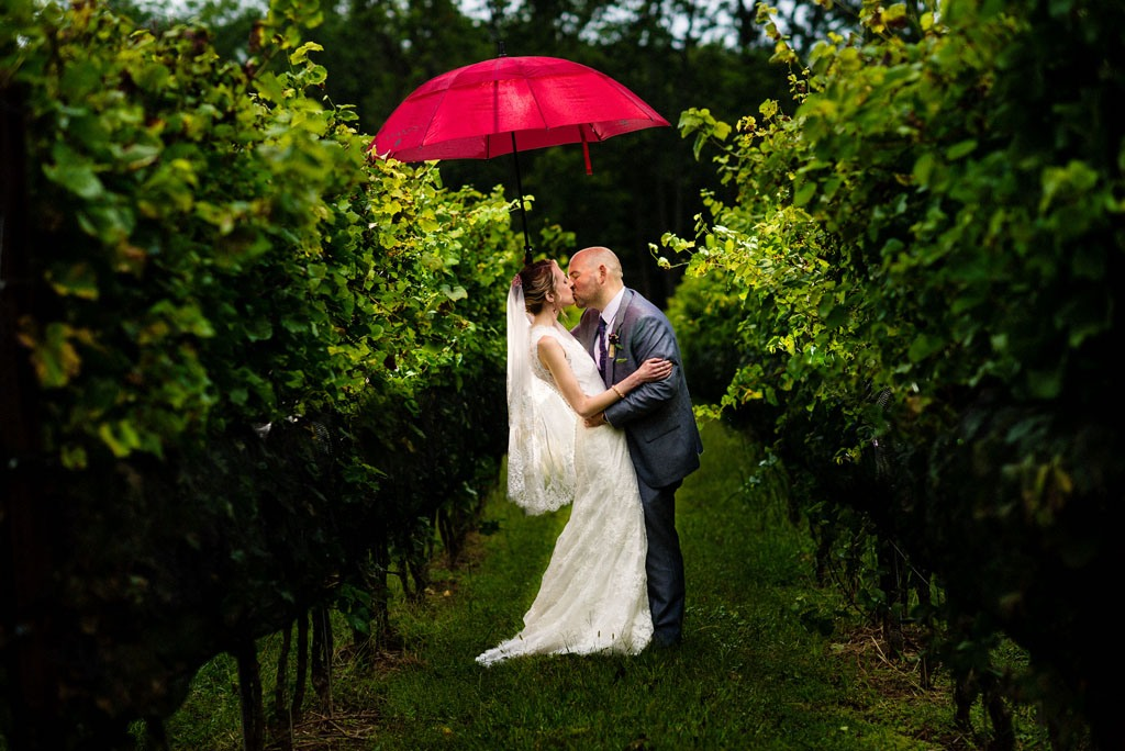 Grace Winery wedding