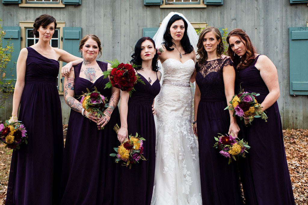 Badass Bridesmaids