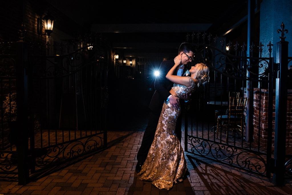 Cescaphe Ballroom Old Hollywood Glam Wedding-177