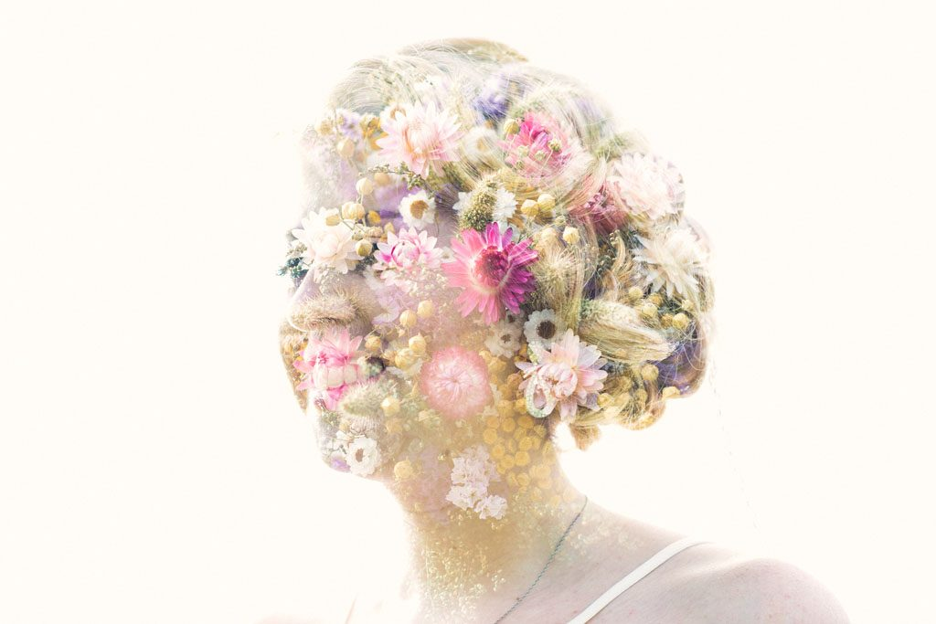 Double Exposure Bride