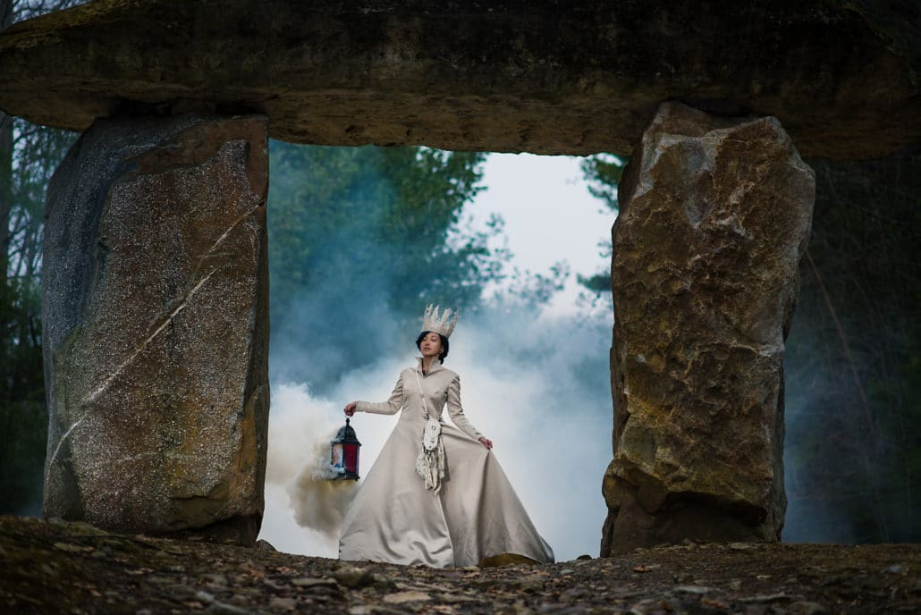 Fantasy shoot by Black, White and Raw Photography
