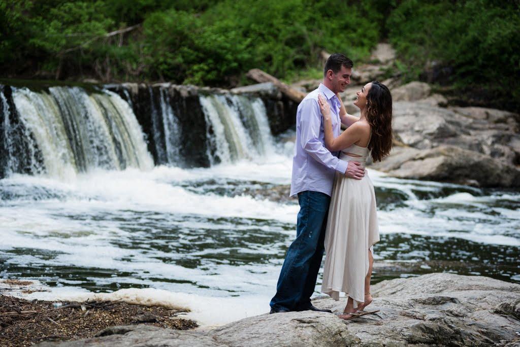 Engagement Shoot at Valley Green Inn