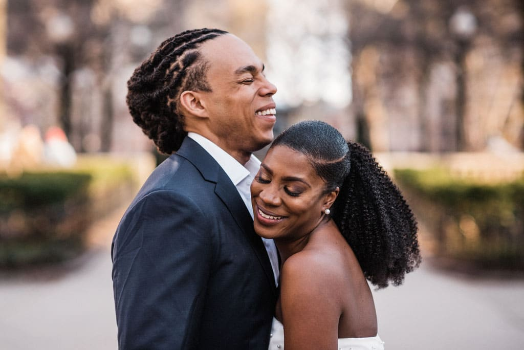 Rittenhouse Square wedding photos
