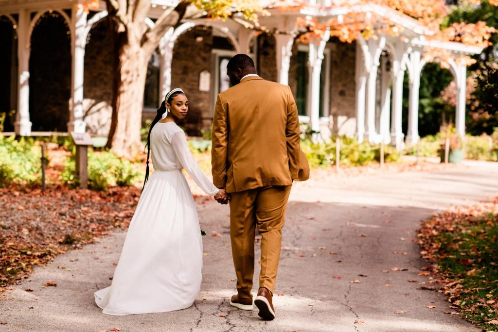 Awbury Arboretum Fall Wedding0287