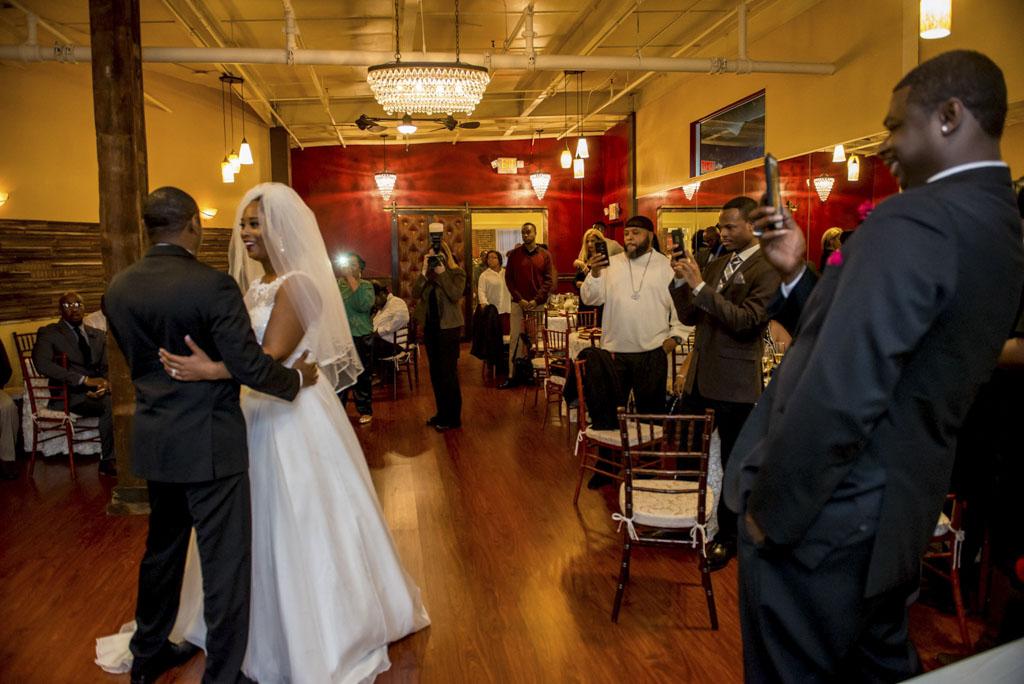 Black White And Raw Photography At The Philadelphia Wedding Chapel