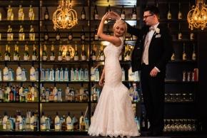 Cescaphe Ballroom Old Hollywood Glam Wedding-114