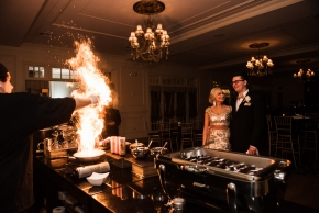 Cescaphe Ballroom Old Hollywood Glam Wedding-157