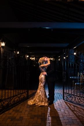 Cescaphe Ballroom Old Hollywood Glam Wedding-173