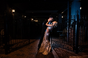 Cescaphe Ballroom Old Hollywood Glam Wedding-178