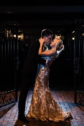 Cescaphe Ballroom Old Hollywood Glam Wedding-180