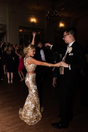 Cescaphe Ballroom Old Hollywood Glam Wedding-186