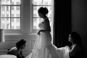 Philadelphia winter wedding Hotel Meridien-19