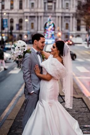 Philadelphia winter wedding Hotel Meridien-54