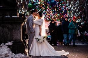 Philadelphia winter wedding Hotel Meridien-66