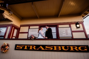 Strasburg Railroad Wedding-37