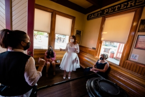 Strasburg Railroad Wedding0120
