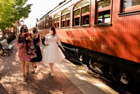 Strasburg Railroad Wedding0126