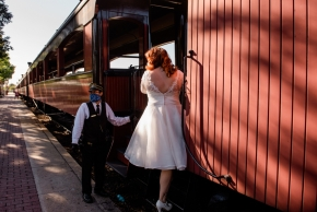 Strasburg Railroad Wedding0132