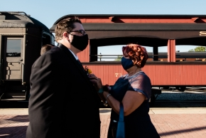 Strasburg Railroad Wedding0179