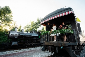 Strasburg Railroad Wedding0357