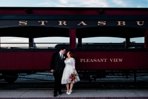 Strasburg Railroad Wedding0493