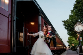 Strasburg Railroad Wedding0524