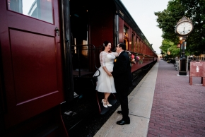 Strasburg Railroad Wedding0525