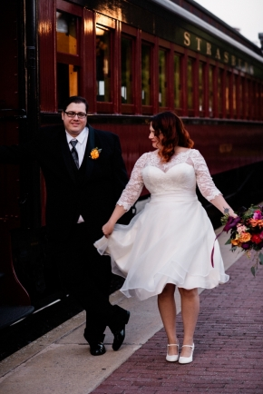 Strasburg Railroad Wedding0539