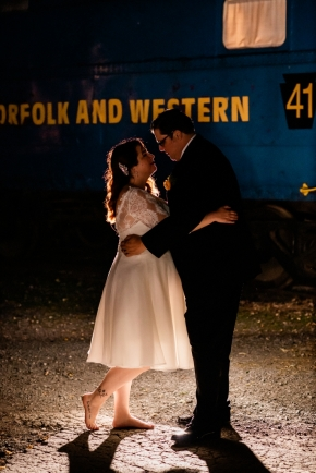 Strasburg Railroad Wedding0693